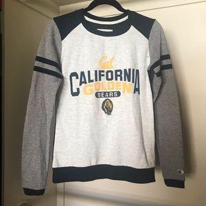 Champion golden Cal Bear sweatshirt!